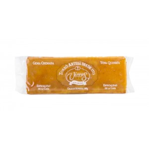 Turrón (nougat) Yema quemada (Crème brulée) - Torrons Vicens 300g