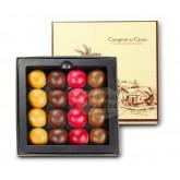 Coffrets des iles demi spheres  - Comptoir du cacao - 128g