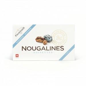 Nougalines aux noisettes - Boite de 15 - 150g - Favarger