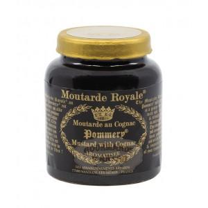 Moutarde Royale au Cognac Pommery® - Les Assaisonnements Briards 100g