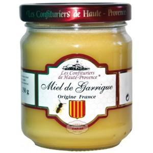 """Miel de Garrigue crémeux """"Les Confituriers de Haute-Provence"""" - 250g"""