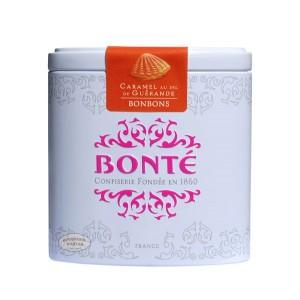 Bonbons au caramel au sel de Guérande Bonté Boite fer 70g