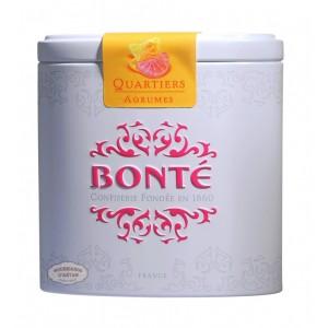 Bonbons Quartiers d'agrumes Bonté Boite fer 70g