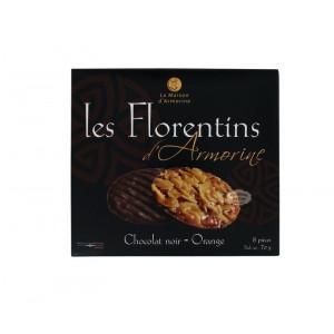 Les Florentins d'Armorine chocolat noir - orange 70g