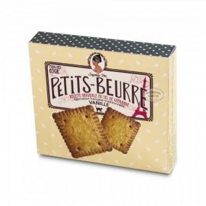 Petits-beurre VANILLE traditionnels au sel de Guérande - 65g