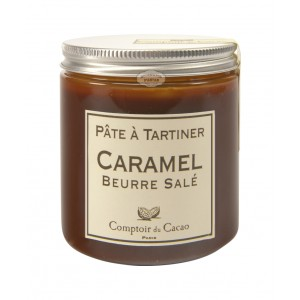 Pâte à tartiner Caramel au beurre salé - Comptoir du cacao - 280g