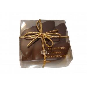 Cabossons - Calissons enrobés de chocolat noir  Leonard Parli - 150g