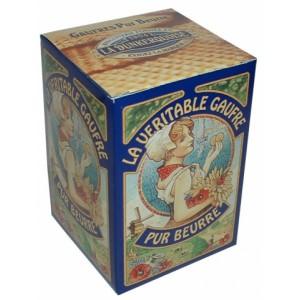 Gaufres pur beurre - La Dunkerquoise - Etui carton 150g