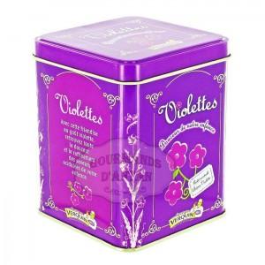 Violettes - Bonbon à la Violette Verquin - Boite métal 400g