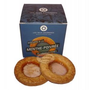 Biscuit Sablé artisanal à la Menthe-Poivré - Les Deux Gourmands