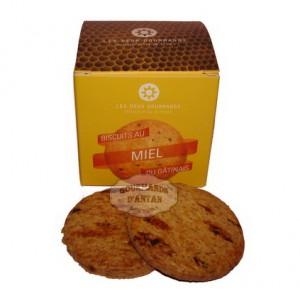 Biscuit Sablé artisanal au Miel du Gâtinais - Les Deux Gourmands