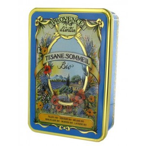 Tisane Sommeil Bio Provence d'Antan - Boîte métal