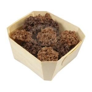 Assortiment croustines NOIR & LAIT - Comptoir du cacao - 180g