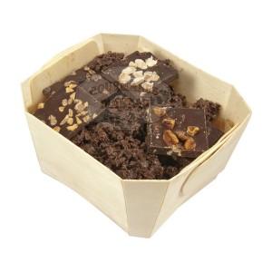 Assortiment NOIR Comptoir du cacao - Boite en bois 180g