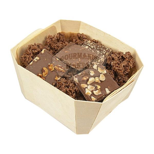 assortiment lait comptoir du cacao boite en bois 180g. Black Bedroom Furniture Sets. Home Design Ideas
