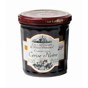 """Confiture Cerise noire  """"Les Confituriers de Haute-Provence""""  370g"""