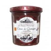 """Confiture Crème de Châtaigne vanillée """"Les Confituriers de Hautes Provence""""  370g"""