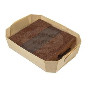 Pralinés feuilletés noisette & caramel au beurre salé 180g - comptoir du cacao