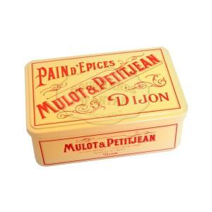 Demi-Pavé Dijonais Boite traditionnelle Mulot & Petitjean - 500g