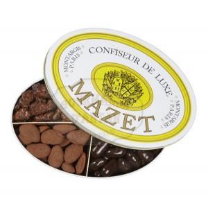 Boîte métal sélection 4 spécialités Mazet - 750g