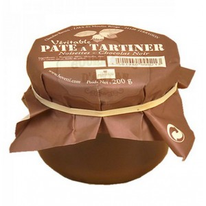 Véritable pâte à tartiner Bovetti noisettes - Chocolat NOIR 200g