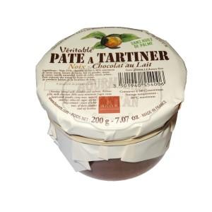 Pâte à tartiner (Véritable) NOIX - Chocolat LAIT Bovetti - 200g