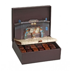Assortiment de chocolats Coffret Théatre Chapon - 660g