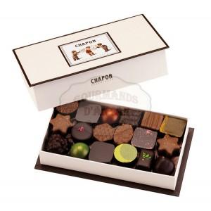 Assortiment de 36 chocolats Chapon - 345g