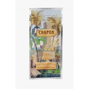 Tablette chocolat Madagascar 75% Chapon - 75g