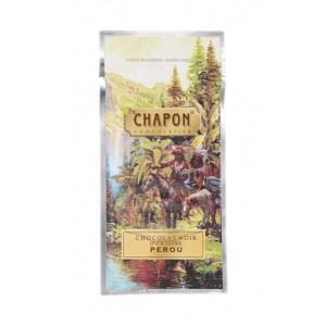 Tablette chocolat Pérou 71% Chapon - 75g