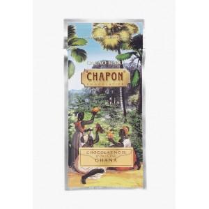 Tablette chocolat  Ghana 80% Chapon - 75g