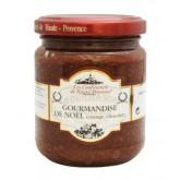 """Gourmandise de Noël """"Les Confituriers de Haute-Provence""""  250g"""