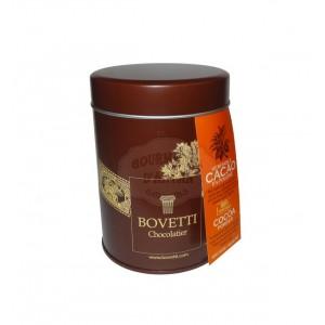 Véritable cacao en poudre Bovetti - Boite fer 200g