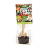 Chocolat chaud St Domingue Bio 73% -  Cuillère bois Bovetti
