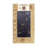 Tablette chocolat noir au thé Earl Grey de Ceylan - Bovetti