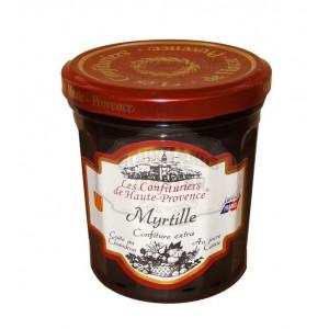 """Confiture Myrtille  """"Les Confituriers de Haute-Provence""""  370g"""