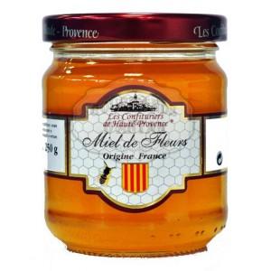 """Miel de fleurs de France """"Les Confituriers de Haute-Provence"""" - 250g"""