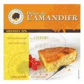 Délice de l'Amandier Citron Sans Gluten - Biscuiterie de Provence