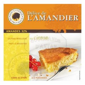 Délice de l'Amandier Citron - Sans Gluten - Biscuiterie de Provence