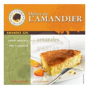 Délice de l'Amandier Amandes - Sans Gluten - Biscuiterie de Provence