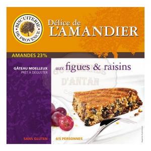 Délice de l'amandier Figues & Raisins  - Sans Gluten - Biscuiterie de Provence