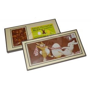 Carte Chocolat lait Pâques Noix Pécan - Comptoir du Cacao - 200g