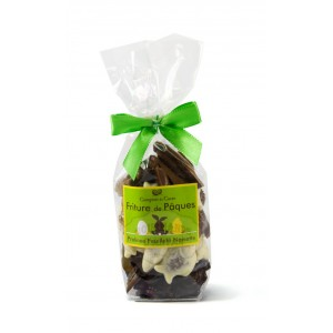 Fritures FETES praliné feuilleté noisette Comptoir du cacao - 200g