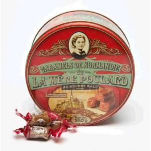 Caramel de Normandie au Beurre salé La Mère Poulard - Boite métal 250g