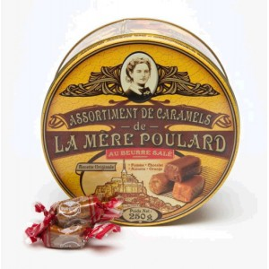 Assortiment de Caramels La Mère Poulard - Boite métal 250g