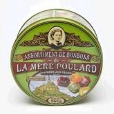 Assortiment bonbons fourrés aux fruits  La Mère Poulard - Boite métal 250g