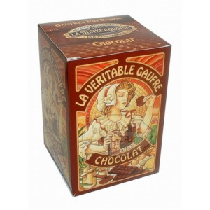 Gaufres Pur beurre Chocolat - La Dunkerquoise - Etui carton 150g