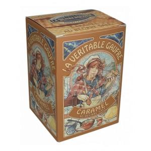 Gaufres Pur beurre Caramel - La Dunkerquoise - Etui carton 150g