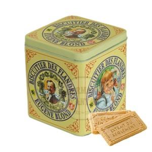 Gaufrettes Amusantes Vanille Eugène Blond  - Boite fer collector 400g