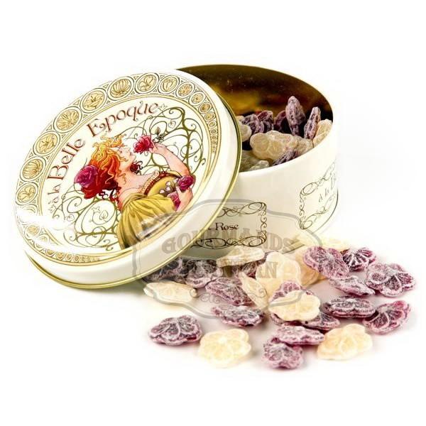 bonbons la rose et la violette a la belle poque 1900 bont 100g gourmands d 39 antan. Black Bedroom Furniture Sets. Home Design Ideas